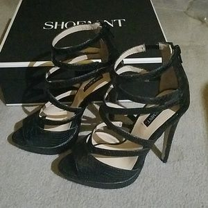 Shoemint Appolina strappy high heel sandals